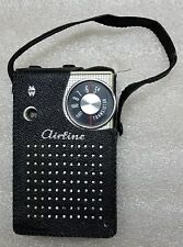 Wards Airline 7 Transistor radio Japan 705 Montgomery Gen 1157A -FREE SHIPPING-