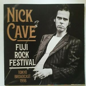 NICK CAVE:FUJI ROCK FESTIVAL TOKYO BROADCAST 1998~2020 GOOD SHIP FUNKE CD ~ New