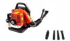 52cc Petrol Backpack Power Leaf Blower 2 Stroke 2200w 191MPH