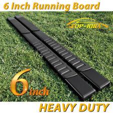 "For 09-18 DODGE Ram 1500/2500 Crew Cab 6"" Running Board Nerf Bar Side Step BLACK"