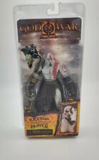 "Kratos Golden Fleece Armor w/ Medusa Head God Of War 7"" action figure NECA NEW"
