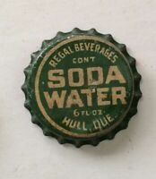 REGAL Beverages SODA crown cap Hull QUEBEC CANADA bottle acl top flat cone tin