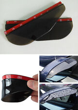 2 REAR VIEW SIDE MIRROR FLEXIBLE SUN VISOR SHADE RAIN SHIELD WATER GUARD For BMW