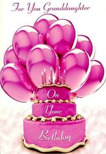 For You Granddaughter - Birthday Greeting Card - 01394