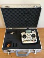 JR PROPO Radio Control X-3810 RC Transmitter Casing with Spektrum DM9 Module