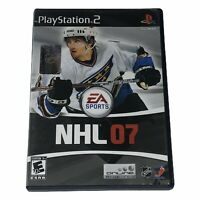NHL 07 (Sony PlayStation 2, 2006) PS2 Complete w/Manual Tested Works