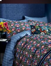 V & A PRIMULA DOUBLE DUVET COVER AND P/CASES, 100% COTTON. NEW IN WRAPPER