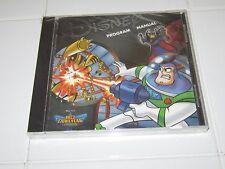 Disney Buzz Lightyear of Star Command Program Manual PC Game Windows 95/98 NEW!!