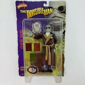 """Universal Monsters The Invisible Man Claude Rains 8"""" Figure Sideshow NEW"""