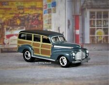 Woodie Photo Ref. #78100 1941 or 1946 Studebaker M5 Station Wagon Truck