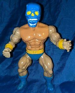 Galaxy warriors, warrior beasts, knock off sungold blue skull figure warlord