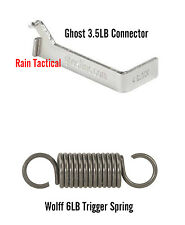 For Glock 19 Ghost 3.5 Trigger Connector & Wolff 6lb Trigger Spring GEN 1-4