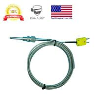"EGT Temperature Sensors K type 1/8"" NPT Compression Fittings & Mini Connector"