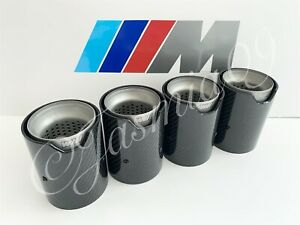 "2.75"" 70mm MPE M PERFORMANCE EXHAUST TIPS M2 M3 F80 M4 M5 F10 M6 F06 F12 F13"