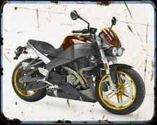 Buell Xb12Scg Lightning 07 A4 Metal Sign moto antigua añejada De