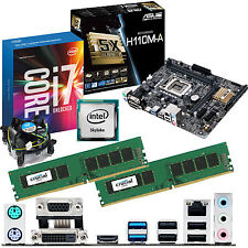 intel core i7 6700k 4.0ghz & asus h110m-a & 8gb ddr4 2133 crucial bundle