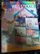 Craft-Tastic Wall Sticker Playhouse by Ann Williams Women Owned Co 0811069030682
