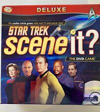 STAR TREK SCENE IT? Deluxe DVD GAME PreOwned Excellent Condition