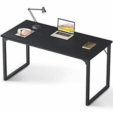 """Coleshome Computer Desk 47"""", Modern Simple Style Desk for Home Office, Sturdy Wr"""