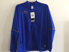 Adidas CON 16 Training Jacket Royal Blue Grey Size Large Boy's Only