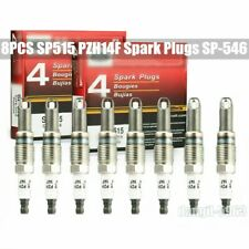 8PCS Spark Plugs SP-546 SP515 PZH14F Genuine New Fits For Ford F150 5.4L US