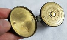 ANTIQUE SPANISH BRASS NESTING CUP WEIGHTS APOTHECARY SET INCLUDING PILL WEIGHT