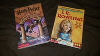 2 JK Rowling books lot, Harry Potter & The Sorcerer's Stone:Conversations with.