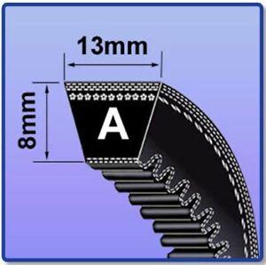 AX A SECTION COGGED V BELT SIZES AX16 - AX46 V BELT 13MM X 8MM VEE BELT MC
