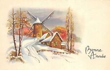 BF37620 bonne anne painting  windmill mill moulin a vent