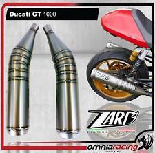 Zard Steel Racing Slip on Exhausts for Ducati GT1000