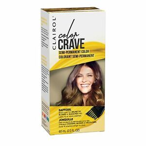 Clairol Color Crave Semi-permanent Hair Dye, Daffodil Hair Color, 1 Count