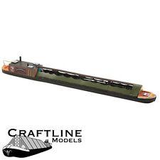 Modèles craftline amb70-Bateau à moteur charbon étroites en bois de balsa kit oo gauge / 4 mm -1 ST