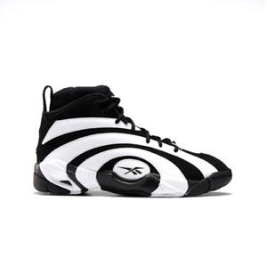 Reebok Shaqnosis Basketball Shoes FV9284 Black White Size 5-12