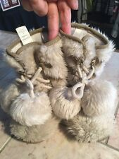 Baby GAP Casual Faux Fur Winter Boots Toddlers Girls Size 8 So Cute!!