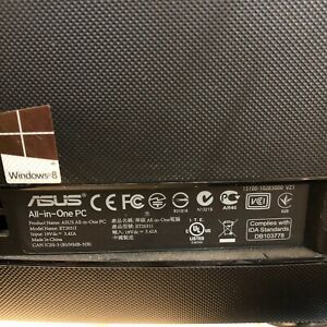 ASUS All-in-One PC ET20311 Windows 8 MODEL NAME: et20311