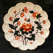 "Antico Scalloped bordo 9 ""PLATE IMARI wileman & Co, FOLEY Potteries pre Shelley"