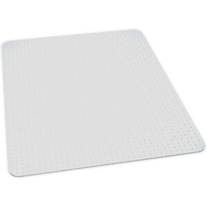 """ES Robbins 122781 EverLife 60 by 72"""" Rectangle Computer Desk Chair Mat, Clear"""