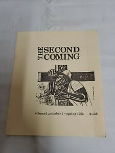 THE SECOND COMING - Vol  1  No  1 Spring 1982