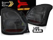 Lightbar LED Rückleuchten Suzuki Swift V AZ 2017 + Lauflichtblinker smoke