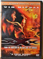 Dvd Xxx Vin Diesel Full Screen Action Espionage Thriller -Extra Dvd's Ship Free