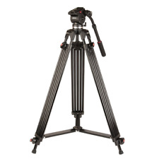 Kenro Twin Tube Video Trípode Kit con líquido de la cabeza: kenvt 103