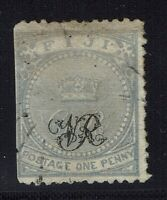 Fiji SG# 28 - Used (Small Repaired Top Tear / Straight Edge) - Lot 041716