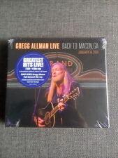 Gregg Allman Live Back To Macon GA 2 CD/DVD Blu-ray Combo