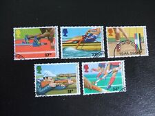 SG1328-1332 1986 13th Commonwealth Games and World Hockey. Used Set of Stamps