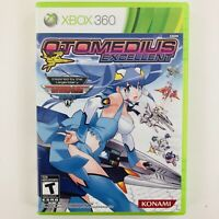 Otomedius Excellent (Microsoft Xbox 360, NTSC, 2011) Complete with Manual