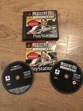 Playstation 1 ps1 Resident Evil Directors Cut + demostración rara completa.