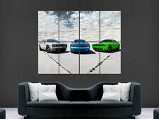 DODGE CHALLENGER MUSCLE CARS  POSTER  PRINT LARGE HUGE