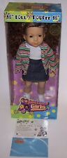 "Disney Santa Clause 2 Movie Prop Awesome Girl 18"" Doll w/Box and Certificate"