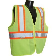 RADIANS HI VIS SAFETY VEST BRIGHT YELLOW WITH REFLECTIVE TAPE XL SV22-2ZGM