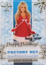 2011 Benchwarmer HOLIDAY SET 21 Autographed Trading Cards BRAND NEW & SEALED!